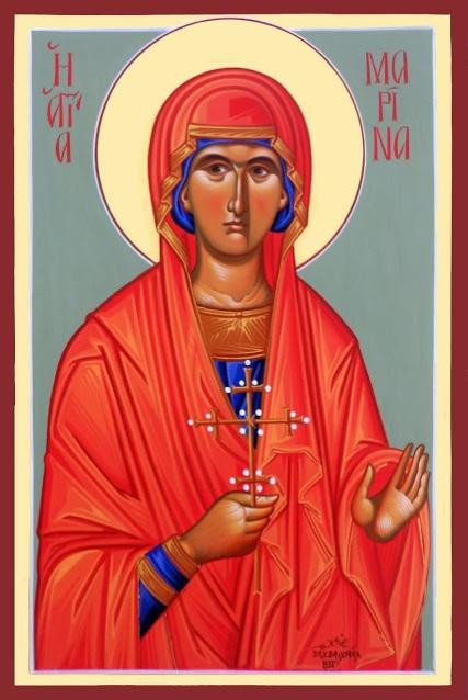 Η Αγία Μαρίνα, Агиа Марина, Saint Marina